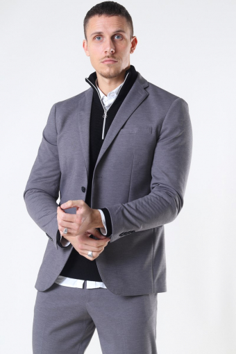 Slim Jim Flex Blazer Light Grey Melange