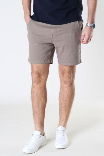 SLHSTORM FLEX SHORTS W NOOS Petrified Oak Mix - Bungee Cord