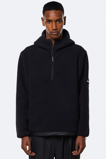 Fleece Pullover Hoodie 01 Black