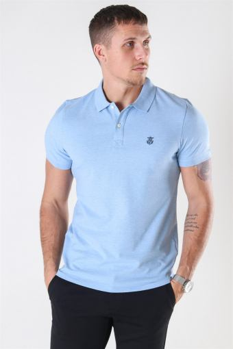 Haro SS Embroidery Polo Skyway Melange