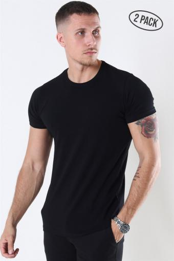 Shape T-shirt 2-Pack Black