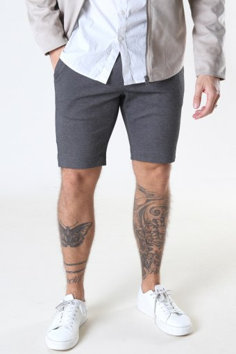 Jason Chino Jersey Shorts Light Grey Mel