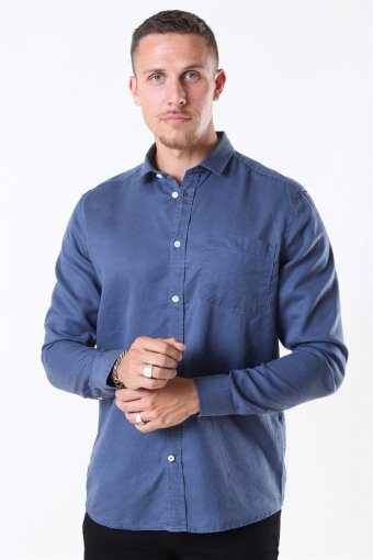 Tailored & Originals Otis Shirt Dark Denim