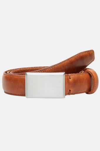 Fillip Formal Plate Belt Cognac