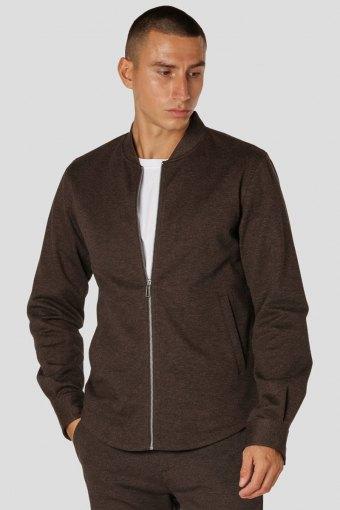 Milano Jacket Brown Melangè