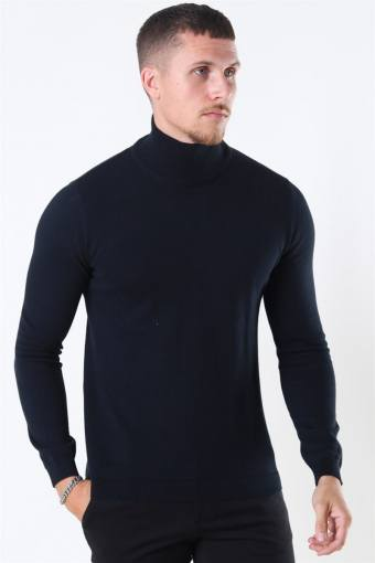 Luno Rollneck Strik Black