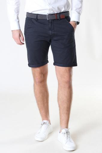 Louis Black Shorts + belt
