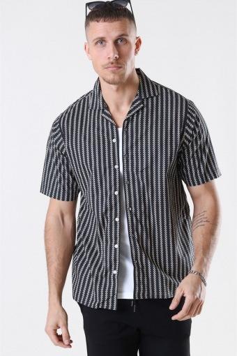 Ross Shirt S/S Black