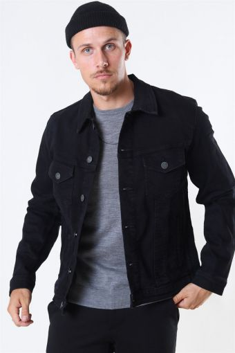 Jack & Jones Alvin Jakke Black Denim