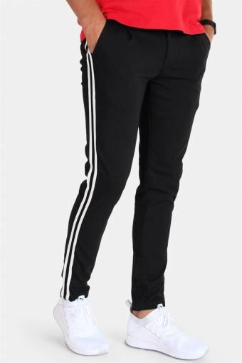 Carlos Pleat Pants Black