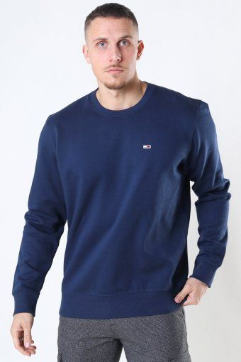 Tommy Jeans Regular Fleece Crewneck Twilight Navy