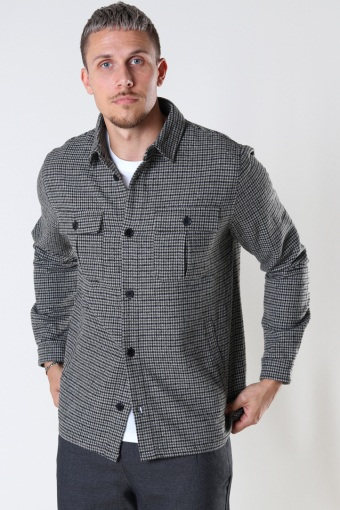 Ted Overshirt Black / Army