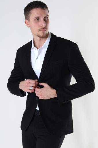 JJEPHIL JERSEY BLAZER Black SUPER SLIM FIT