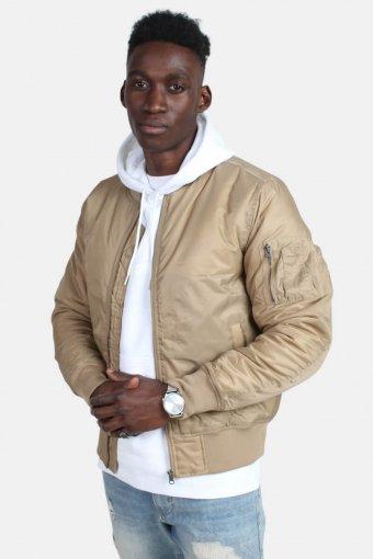 Bomber jacket Beige