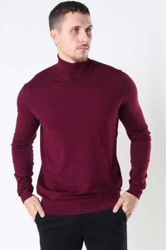 Potter Turtleneck Strik Zinfandel