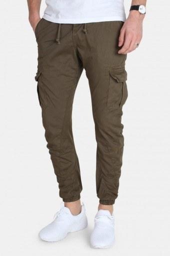 Cargo Jogging Pants Olive