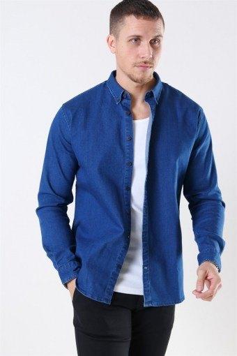 Johan Denim Shirt Dark Blue