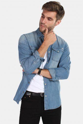 Sheridan Shirt Medium Blue Denim