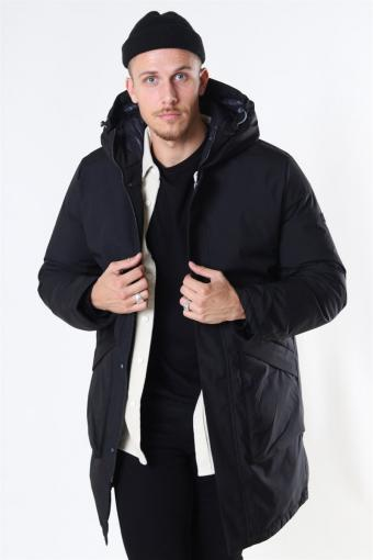 Jack & Jones Husk Parka Jakke Black