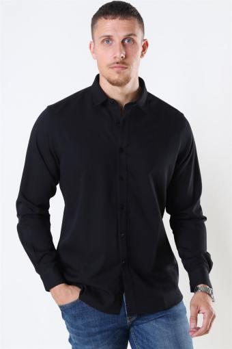 Clean Cut Maxime Shirt L/S Black