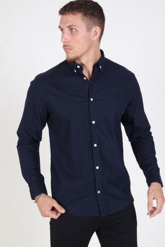 Johan Oxford Washed Shirt Navy