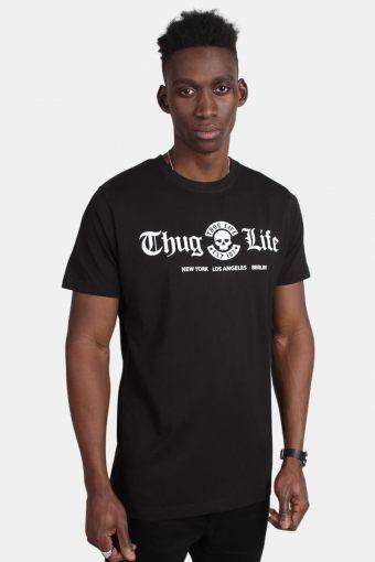 MT384 Thug Life Cities Tee Black