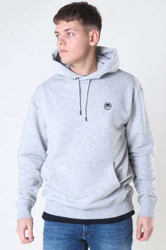 Pietro Hoodie Light Grey Melange
