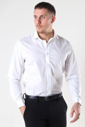 London Stretch Nano Shirt L/S White