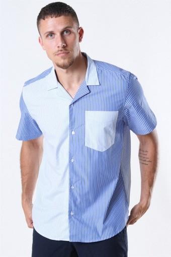 Rant Cuba Patch Shirt White/Blue