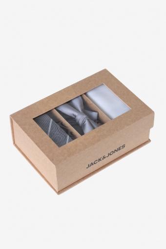 JACNECKTIE GIFT BOX POLY Glacier Gray
