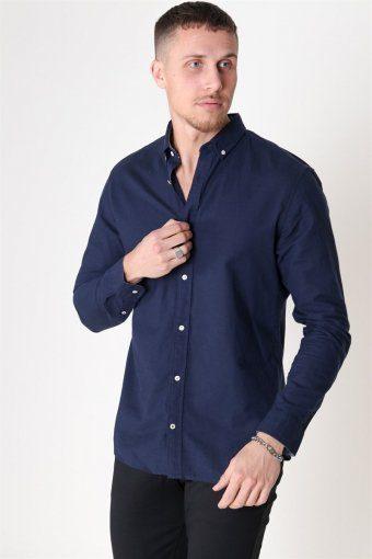 Summer Shirt L/S Navy Blazer