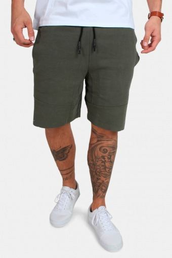 TB1586 Interlock Sweatshorts Olive