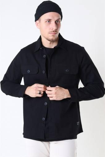 Topper LS Overshirt Black