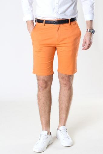 Milano Drake Stretch Shorts Pale Orange