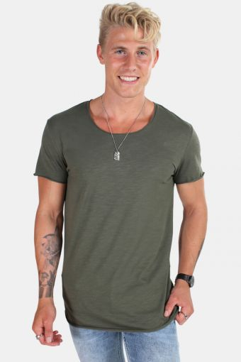 Jack & Jones Bas T-shirt SS U-neck Noos Thyme