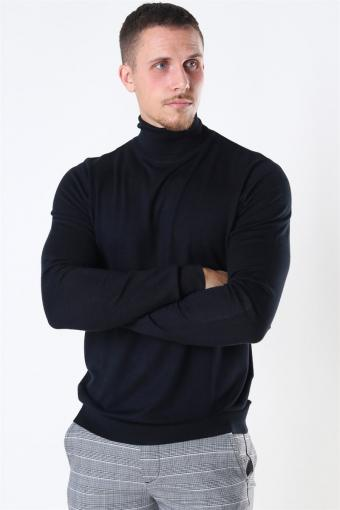 Potter Turtleneck Strik Black