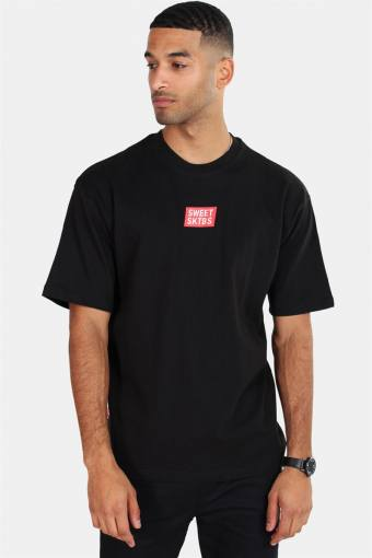 Sweet 90's Loose Off T-shirt Black