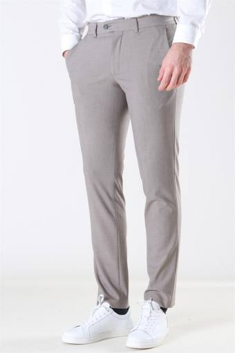Slim-Carlo Flex Structure Pants Sand
