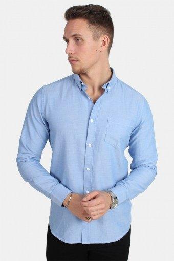 Alvaro LS Shirt Cashmere Blue