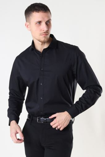 London Stretch Nano Shirt L/S Black