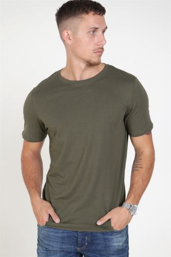 Jack & Jones Organic Basic Tee SS O-Neck Noos Olive Night