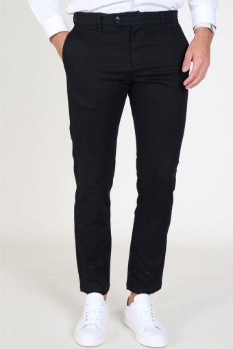 Slim Carlo Pants Black