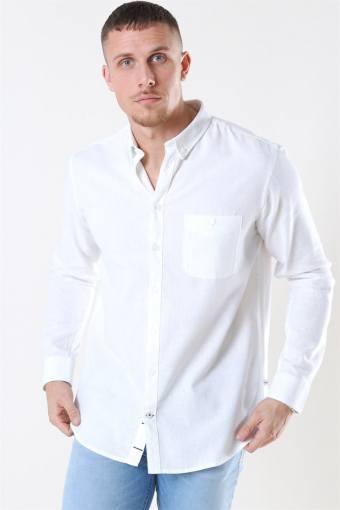 Johan Linen Shirt White