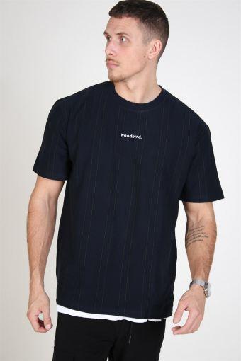 Craz Soccer T-shirt Navy