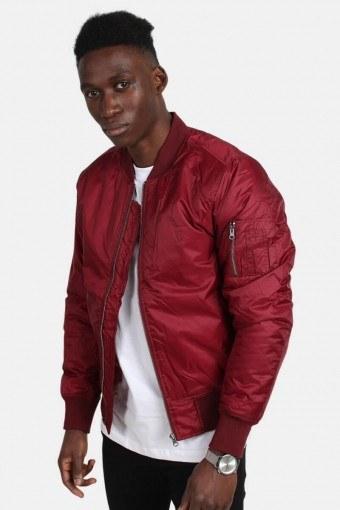 Bomber jacket Burgundy