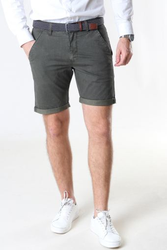 Louis Army Shorts + belt
