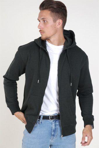 Soft Sweatshirts Zip Hood Rosin