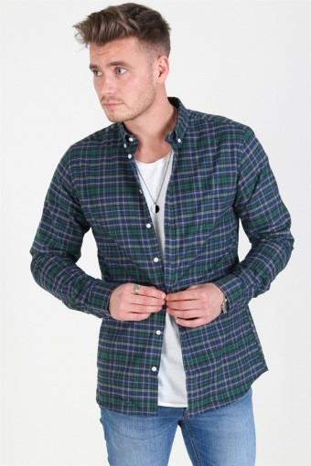 Valence Shirt Green/Navy
