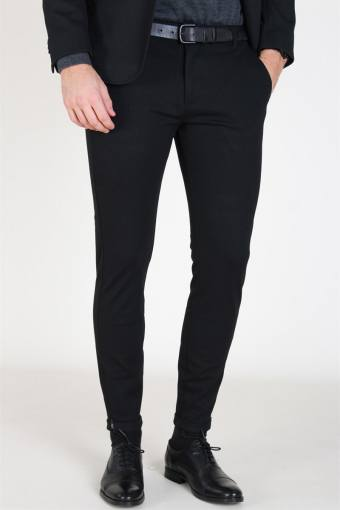 Pisa Jersey Pants Black