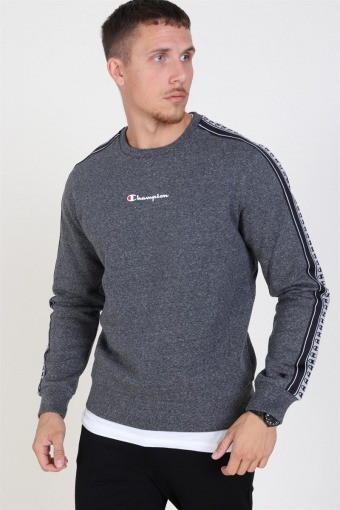 Cotton Terry Sweatshirt Dark Grey